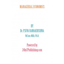 Managerial Economics eBook by Dr. P. Siva Ramakrishna