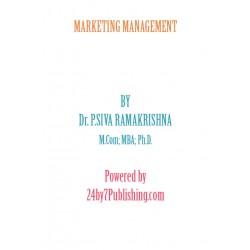 Marketing Management eBook by Dr. P. Siva Ramakrishna