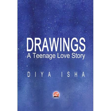 DRAWINGS - teenage love story by Diya Isha