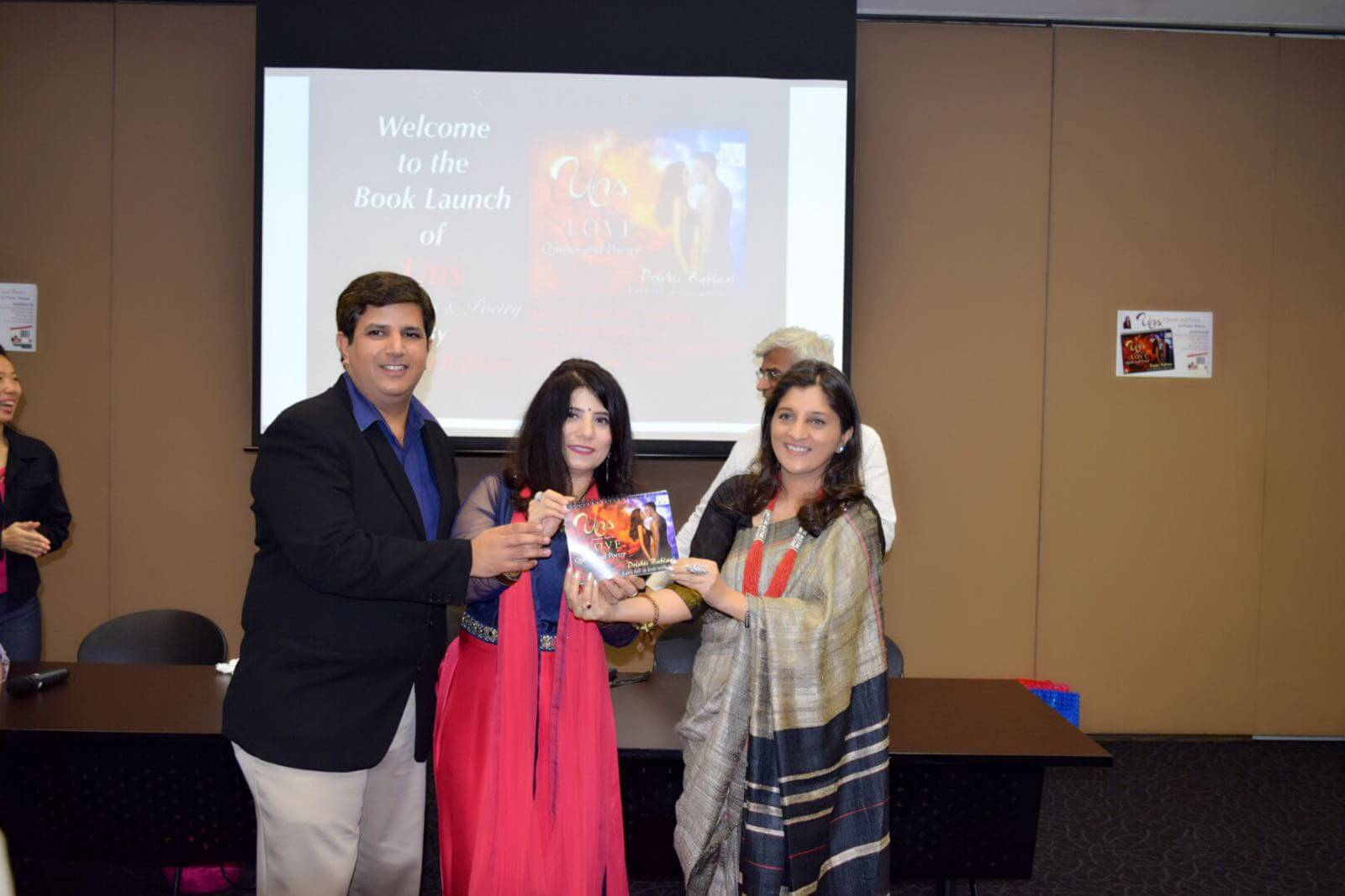 India's best-seller author Sunita Lad Bhamray is launching the book 'Uns', written by Drishti Bablani and published by 24by7Publishing.com.